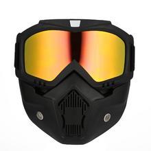 Casco del motociclo di Guida Off-Road Attrezzature Per Esterni di TPU PC Occhiali Maschera