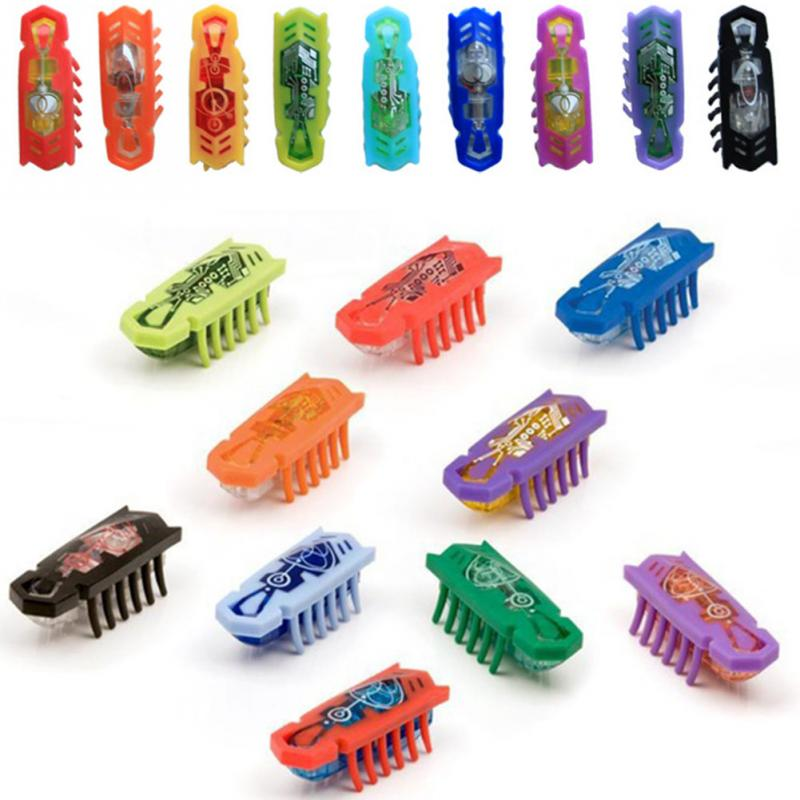 2019 High Quality Colorful Electronic Nano Insects Mini Mechanical Insect