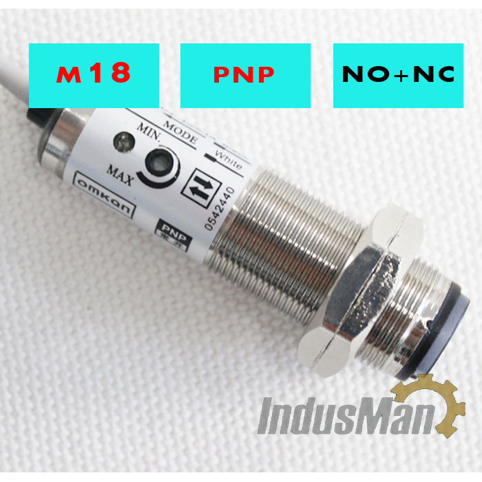 5PCS x CDD 40P Diffuse type M18 4 Wires DC6 36V PNP NO NC 10 30cm