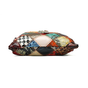 Image 4 - Bolsos de hombro de colores para mujer de AEQUEEN, bandoleras de diseño de almazuela con solapa pequeña, bolsos cruzados de colores brillantes