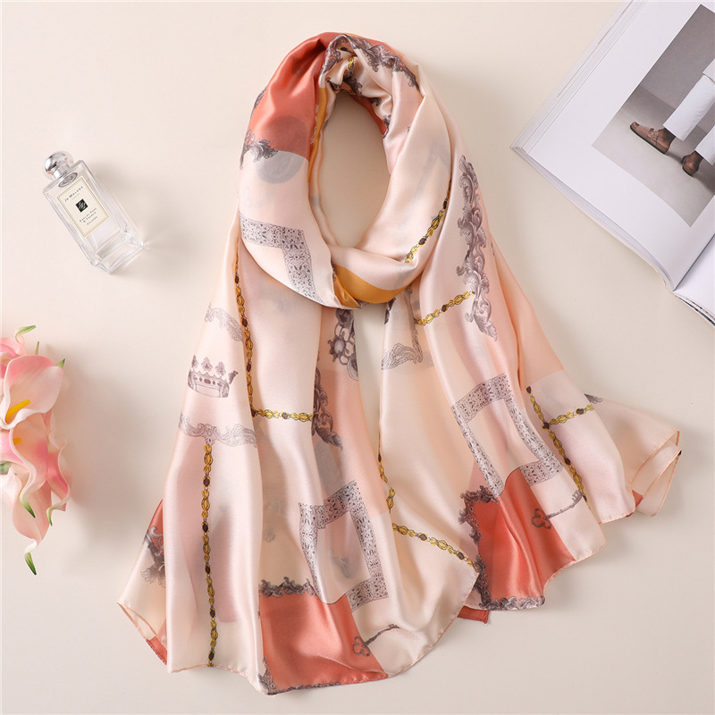 Scarf Winter Warm Shawl Decorative-Scarf Spring Women's Summer Travel And Sunscreen Dual-Use