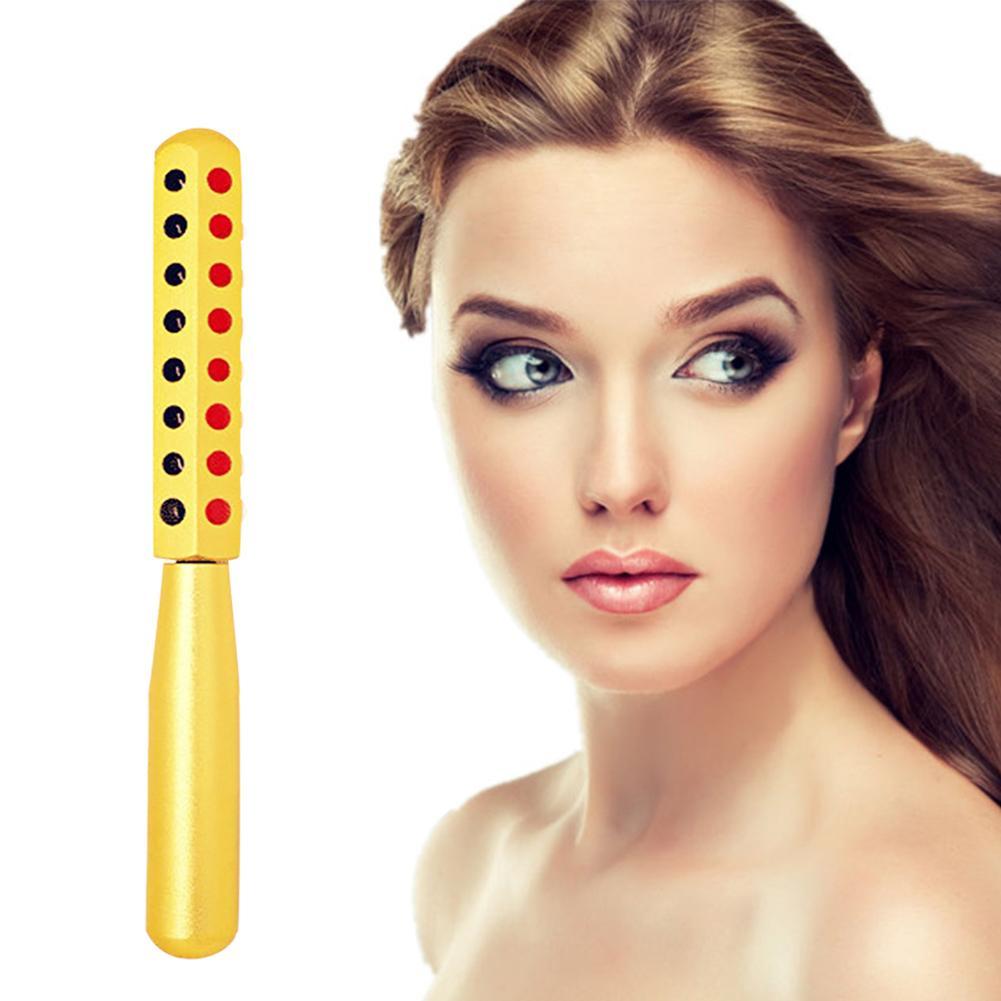 Gesicht Massage Roller Gesicht Haut Straffende Hebe Anti-aging Schönheit Werkzeug mit 30 Wertvolle Germanium Steine Hautpflege Werkzeuge