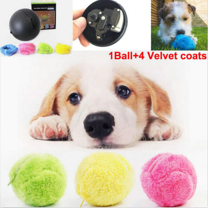 Electric Dog Cat Pet Toy Automatic Magic Roller Ball Toy 5pcs/Set Electric Dog Cat Pet Toy Automatic Magic Roller Ball Toys Hot
