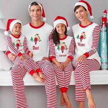 Outfits Matching-Clothing-Sets Christmas-Pajamas Family-Look Mon New-Year