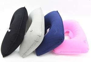 Image 5 - Функциональная надувная подушка для шеи, надувная u образная подушка для путешествий, Автомобильная подушка для шеи, надувная подушка для отдыха, подушка для путешествий