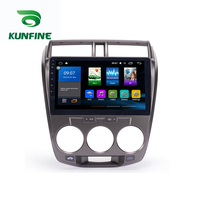 Octa Core 1024*600 Android 8.1 Car DVD GPS Navigation Player Deckless Car Stereo for Honda Fit 2008 Radio Headunit Wifi