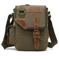 High Quality Canvas Messenger Bags For Boys Teenagers Stylish Anti theft Crossbody Bag Men Male Hand Bags With Side Pocket