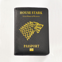 Game of Thrones Passport Cover Wolf Prints Covers for Travel Customized Rfid Blocking game thrones