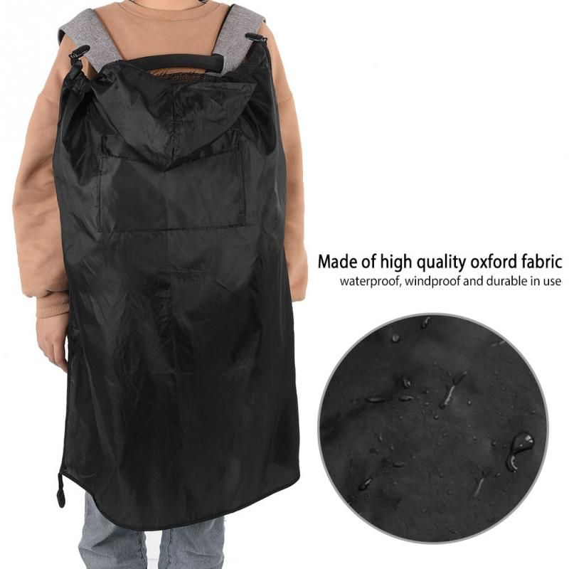 Backpacks & Carriers Humorous Baby Carrier Cloak Cover Waterproof Baby Backpack Carrier Cover Infant Baby Sling Rainproof Windproof Cloak Winter Hot Sale Warm And Windproof Activity & Gear