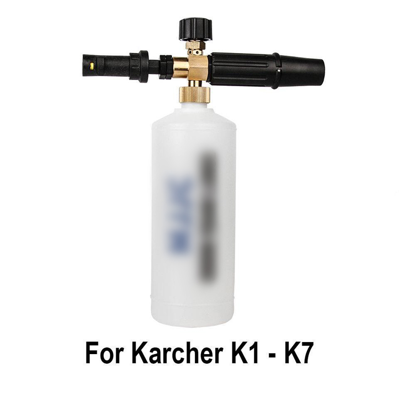 Professional Car Wash Bottle Snow Foam Lance High Pressure Washer Gun Sprayer Jet Water Sprayer For Karcher K2-K7 Accessories Professional Car Wash Bottle Snow Foam Lance High Pressure Washer Gun Sprayer Jet Water Sprayer For Karcher K2-K7 Accessories