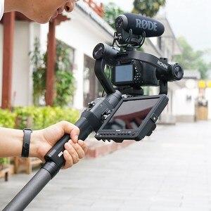 Image 5 - Alliage daluminium étendre tige bâton pour Dji Ronin S Osmo Vimble 2 grue lisse 4 Feiyu G6 G5 AK4000 A2000 télescopique à main