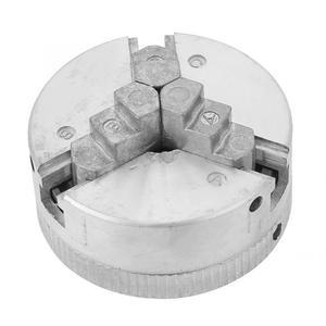 Image 3 - مثقاب صغير تشاك Z011 سبائك الزنك 3 الفك تشاك المشبك ملحق ل مخرطة معدنية آلة طحن كوليه تشاك
