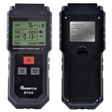MUSTOOL MT525 elektromanyetik radyasyon test cihazı elektrik alan koruyucu koruma dedektörü EMF Tester LCD bilgisayar telefonu için
