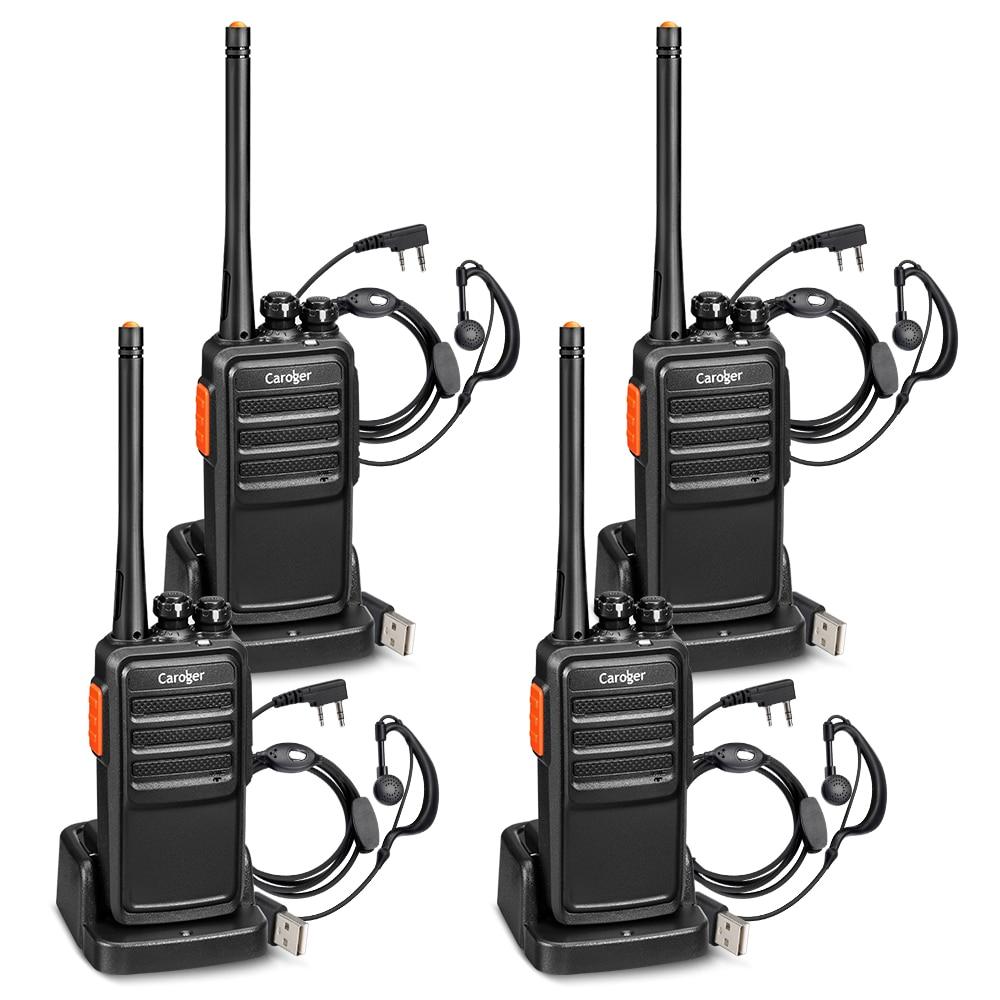 4 Pcs Uns Stecker Floureon A5 Wiederaufladbare 16 Kanal Walkie Talkie Two Way Radio Transceiver Long Range Handheld Sprech Lassen Sie Unsere Waren In Die Welt Gehen Sicherheit & Schutz