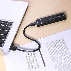 Image 4 - PCIE SSD USB3.1 유형 C M.2 M 키 NVMe PCI E 하드 디스크 드라이브 하우징 케이스 10Gbps 2280 HDD 인클로저 모바일 박스 솔리드 스테이트 박스