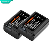 Bonacell 2000mah NP-FW50 NP FW50 Battery AKKU For Sony NEX-7 NEX-5N NEX-5R NEX-F3 NEX-3D Alpha a5000 a6000 DSC-RX10 Alpha 7 a7II sanger dual channel quick digital battery charger for sony np fw50 battery fit alpha nex f3 6 5n 5r 5t 3n c3 5 7 slt a33 a37 a55