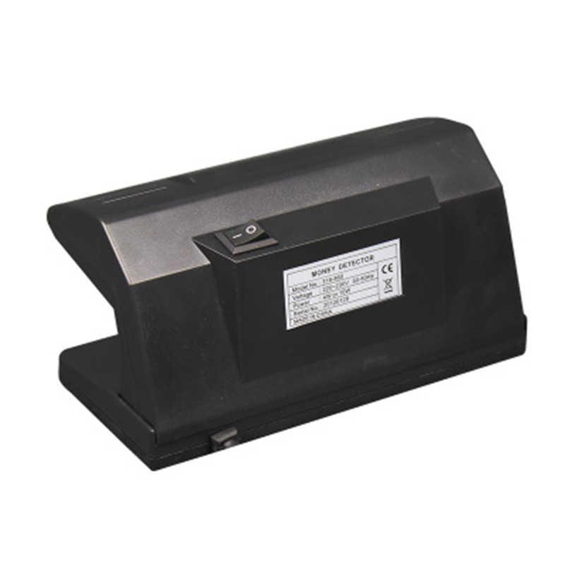 EU ปลั๊ก 4 วัตต์ UV Light Money Detector Checker ปฏิบัติธนบัตรปลอม Bill สกุลเงินปลอมเครื่องตรวจจับ Checker ON/OFF สวิทช์