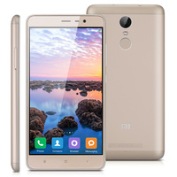 Chinese version Redmi Note3 3GB 32GB 5.5'' 4G Smartphone Qualcomm Snapdragon 650 Hexa Core 16.0MP Rear Camera Unlocked Cellphone