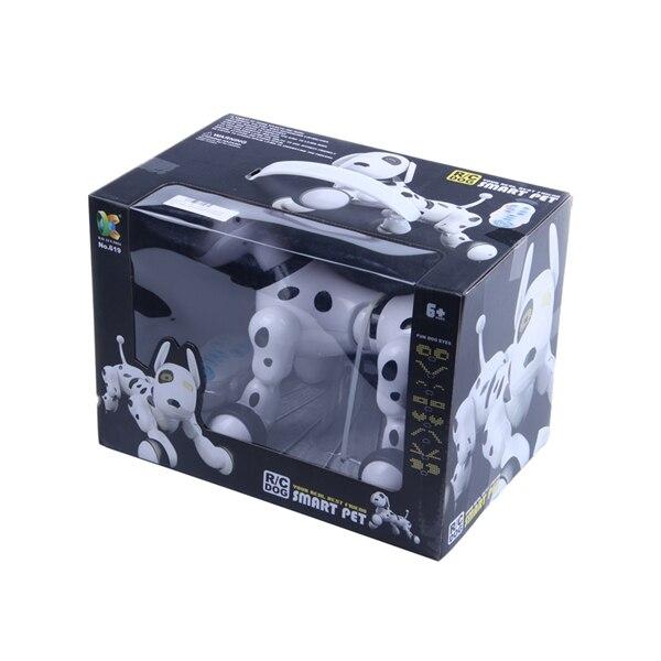 Télécommande sans fil smart robot chien Wang Xing chien électrique éducation précoce jouets éducatifs pour enfants (blanc) - 2