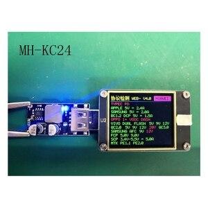 Image 4 - USB QC3.0 QC2.0 USB DC DC понижающий преобразователь зарядный понижающий модуль 6 32 в 9 в 12 В 24 В для быстрой зарядки печатная плата 5 В