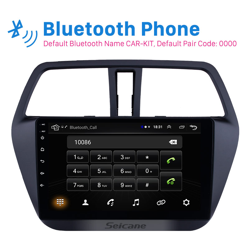 Seicane Android 8 1 9 Car Radio For Suzuki S Cross SX4 2014 2015 2016 2017