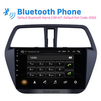 Seicane Android 8.1 9 Car Radio For Suzuki S Cross SX4 2014 2015 2016 2017 Stereo GPS Multimedia Player Support OBDII DVR 3G