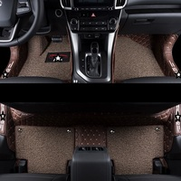 Styling Accessories Auto Carpet Floor Car Mats Upgraded protector Accessory Mouldings Automobiles Foot Pad FOR Hyundai IX35