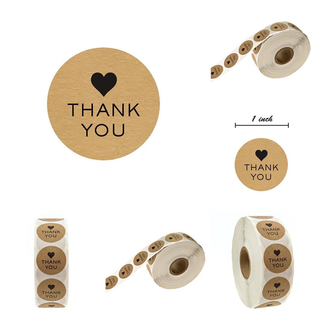 500 pcs/roll  Sticker Round Thank You Pastry Tools Stickers Letters DIY Cake Baking Cookies Gift Box Labels Sticker500 pcs/roll  Sticker Round Thank You Pastry Tools Stickers Letters DIY Cake Baking Cookies Gift Box Labels Sticker