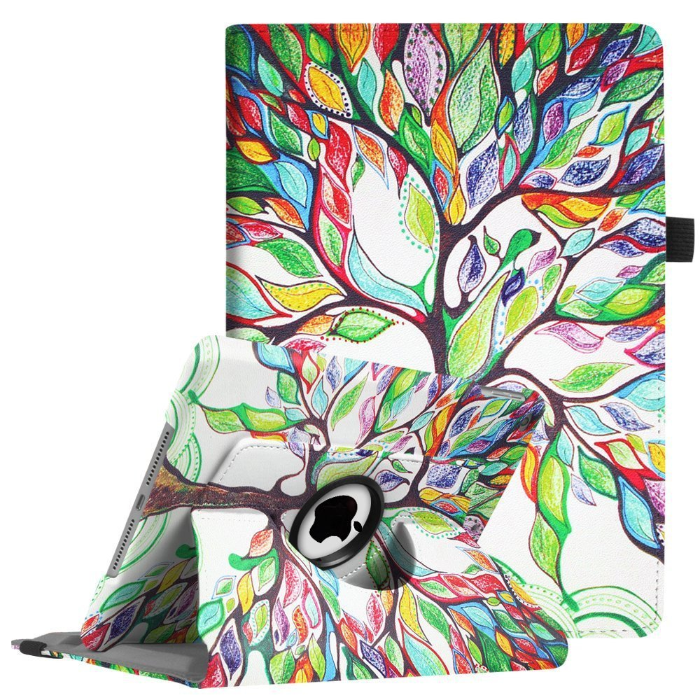 Case for IPad 9.7 2018, New Ipad 2017 Smart Cover PU Leather 6th Generation 2018 A1822 A1893