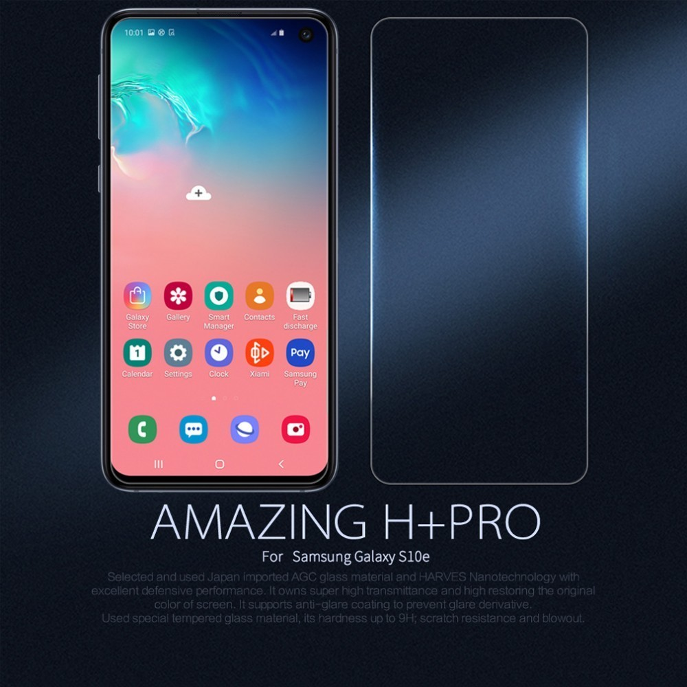Image 2 - For Samsung Galaxy S10e Tempered Glass S10e Glass Nillkin Amazing H+Pro 9H 0.2mm 2.5D Glass For Samsung Galaxy S10e-in Phone Screen Protectors from Cellphones & Telecommunications