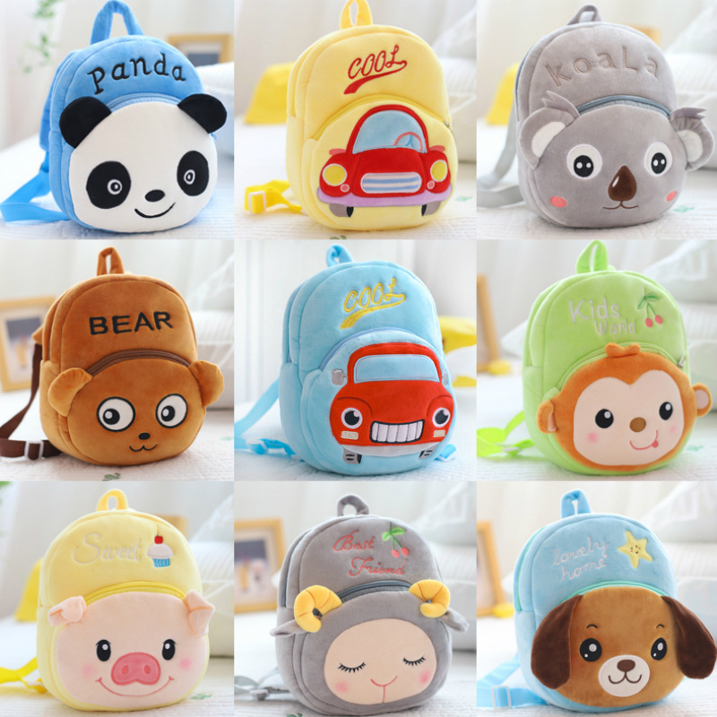 Cartoon Children Backpack Kids Safety Harness Bag For Girl Boy Mochila Infantil  Harnais De Securite Veiligheidsharnas Car Koala