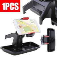 ABS Plastic Mobile Cell Phone Bracket Holder Storage Box Car Dash Mount Stand Organizer Box For Wrangler 2011 2017 High Quality