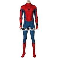 In Stock Spiderman Costume Costume Homecoming Civil War Cosplay Carnival Adult Costumes Superhero Spider Man Jumpsuit Halloween