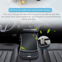 New Multi function Vehicle Air Purifier With Intelligent Fast Wireless Charging Function 12V Negative Ion Air Purifier