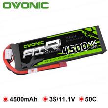 Литий полимерный аккумулятор ovonic 111 В 4500 мАч 50c max 100c
