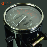 Motorbike Tachometer Speedometer Gauge Meter For HONDA Steed VLX400 VLX 600 Rebel CMX250 Rebel CA250 1996 2011 CMX250C 2003 2011