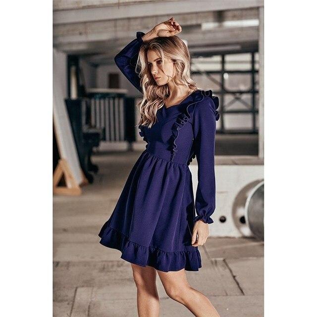Платье. Цвет синий C.H.I.C