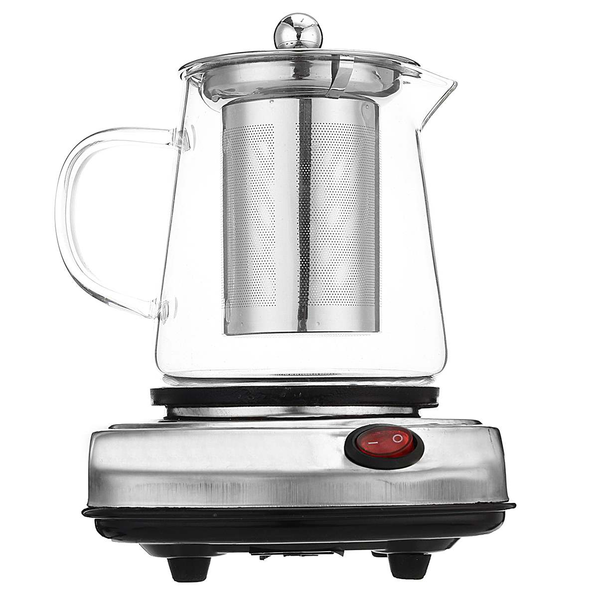 500ml Electric Kettles Glass Pot Tea Stove Flower Tea Heater Kettle Glass coffee Tea pot Electric Kettle Water with Filter500ml Electric Kettles Glass Pot Tea Stove Flower Tea Heater Kettle Glass coffee Tea pot Electric Kettle Water with Filter