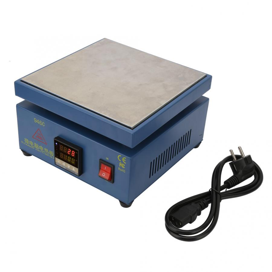 Soldering Station Digital 110V 220V Digital LCD Electronic Hot Plate Preheating Station for Phone Screen Replacement