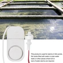4,5 в датчик утечки воды Датчик Затопления ABS сигнализации оповещения белый