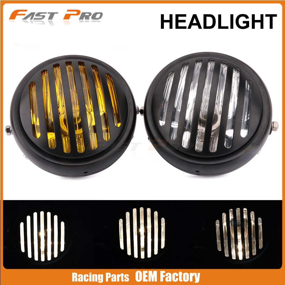 New Free Shipping Motos Accessories 5.75 headlight motorcycle 5 3/4 headlight For Honda Ktm Harley Universal