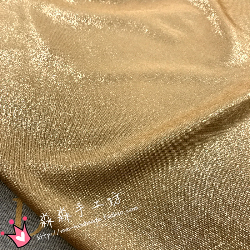 Smart Home Four-sided Elastic Knitted Crystal Linen Cloth Milk Halon Swimsuit Clothing Fabric Spandex Fabric Durable In Use