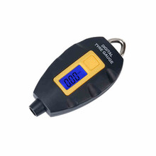 1pc Mini Digital Tire Pressure Gauge Meter Keychain Pressure Gauge Meter For Cars Truck Motorcycle Mountain Bike Tire Pressure(China)