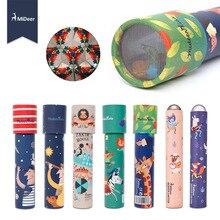 Mideer kaleidoscope Imaginative Cartoon Animals Colorful World Gifts for Kids Logical Magical STEM Educational Toys Children
