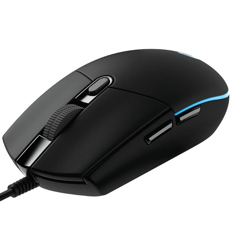 Image 4 - Logitech G102 Gaming Mouse 8000DPI RGB Macro Programmable Mechanical Buttons Wired Mouse for PUBG/Overwatch/LOL Games miceMice   - AliExpress