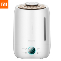 Xiaomi Deerma 5L Air Humidifier Ultrasonic Quiet Aroma Mist Maker LED Touch Screen Timing Function Home Water Diffuser DEM F500