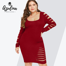 dd3672eb04 Buy ripped bodycon dress and get free shipping on AliExpress.com