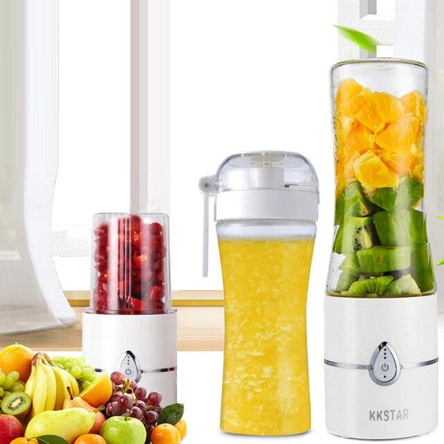 Portátil Elétrica Juicer Blender Milkshake de Comida para Bebé Moedor de Carne Misturador Multifuncional Suco De Fruta Máquina do Fabricante Garrafa de Água