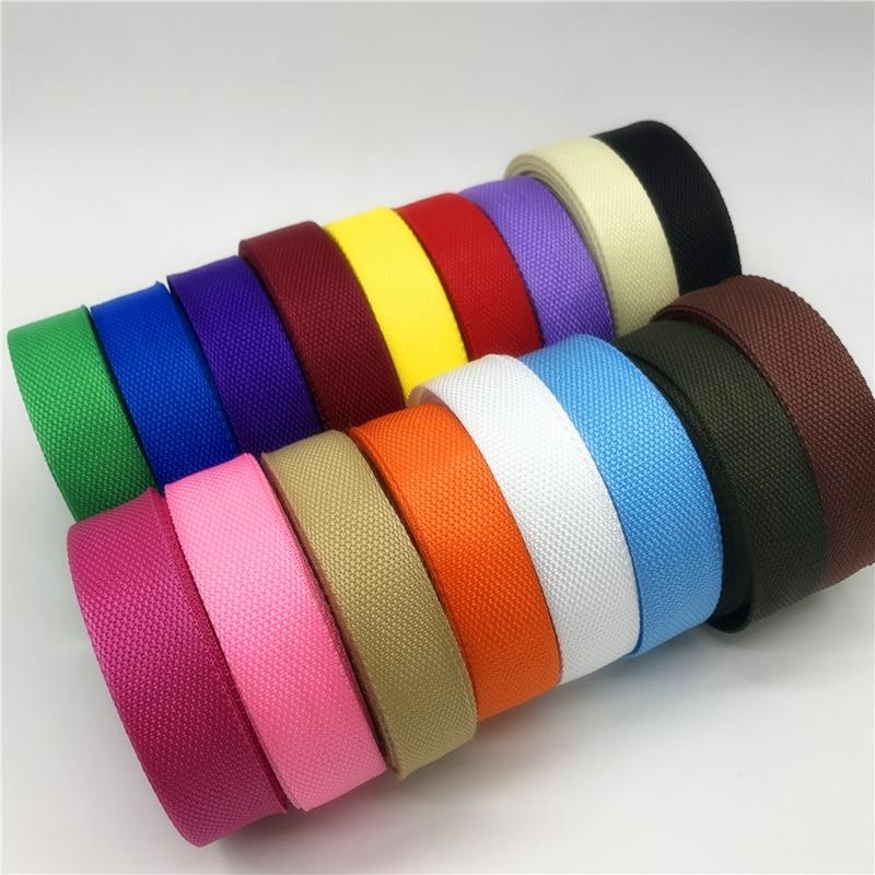 5yards 30mm Nylon Webbing Polypropylene PP Webbing Ribbon Band Strap Dog Collar Harness Outdoor Backpack Bag Parts