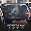 4 шт. Магнитная Автомобильная оконная Солнцезащитная штормовая сетчатая Боковая дверь для CITROEN C4L